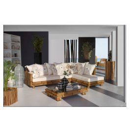 Угловой диван из бамбука в Калининграде