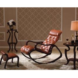 Кресло-качалка цвет темный орех в мебельном центре Уют, Калининград
