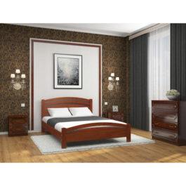 Кровать Камелия 3 цвет вишня купить в Мебельном центре Уют в Калининграде и области