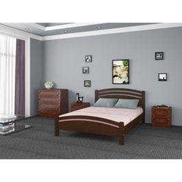 Кровать Камелия 3 цвет дуб купить в Мебельном центре Уют в Калининграде и области