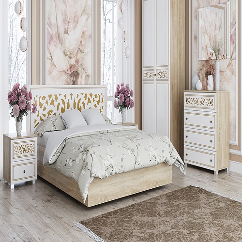 Современная спальня Мадлен